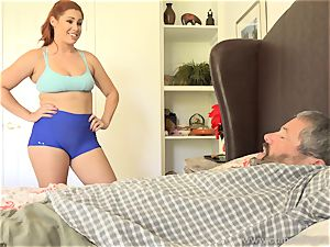 Edyn Blair smashed By massive ebony man-meat spouse watches