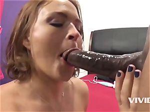 Krissy Lynn Gets A stiff big black cock In Her coochie