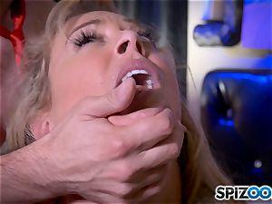 man meat globbering blonde cougar Cherie Deville
