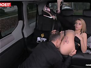 taxi Driver jizzes several Times In fabulous Czech cunny