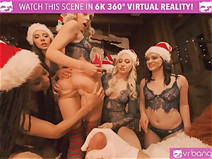 VRBangers Christams romp With Eight uber-sexy Elves