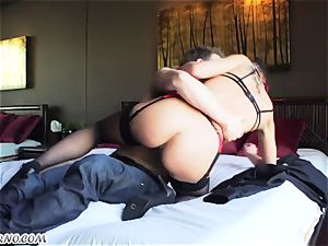 slim rich nymph Aidra Fox gets her donk catapulting