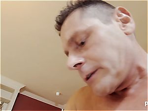 lucky guy penetrates 2 molten honies