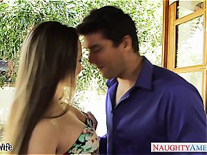 nice Dani Daniels gets a internal ejaculation in her unshaved cooter