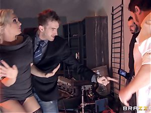 blondie Bailey Blue caught and drilled