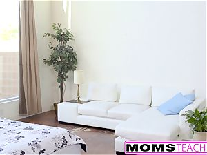 MomsTeachSex - warm Step-Mom And teenage Get muddy facial cumshot