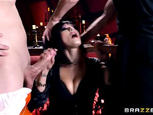 MMF humping for gothic babe Katrina Jade