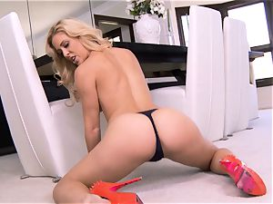 unbelievable milf Cherie Deville shows exactly what she loves