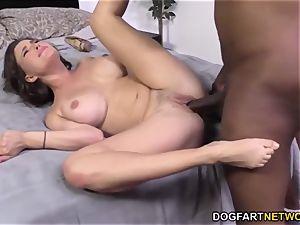 Krissy Lynn Having raunchy interracial ass-fuck hook-up