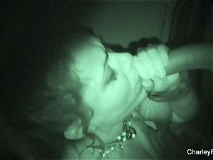 Night vision tearing up with supah scorching Charley chase