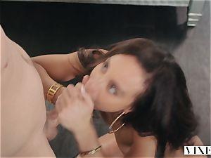 VIXEN Teanna Trump Has amazing spunky orgy