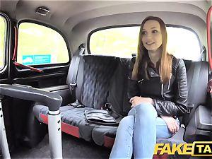 fake cab slim sandy-haired luvs harsh sex
