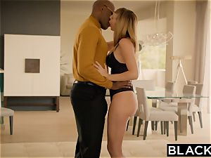 BLACKED Brett Rossi panicked From Her Ex enormous ebony chief Protects Her