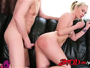 ZTOD Dakota James needs a sugar father to fill her cooter