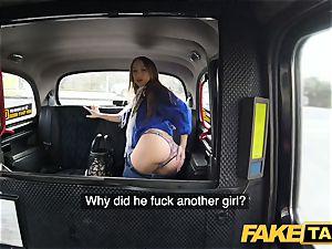 fake cab torrid vengeance taxi pound for beautiful sumptuous minx