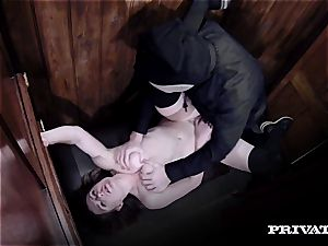 Samantha Bentley romping the priest