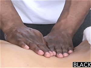 BLACKED super-steamy Southern blonde Takes enormous black manmeat