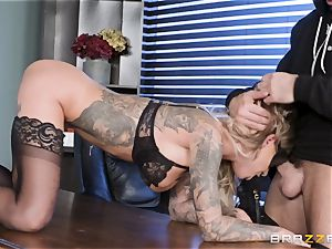 Karma Rx takes vag humped in the office
