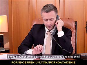porno ACADEMIE - tutor Valentina Nappi MMF 3some