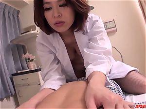 fucky-fucky with sizzling chinese mummy Erika Nishino