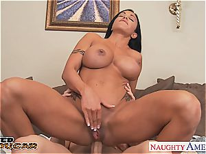 brown-haired milf clits Jade pummeling well