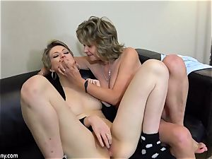 nubile milking when mature joining the soiree