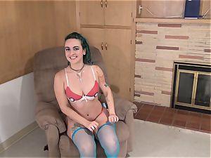 gorgeous Amy desire enjoys cosplay!
