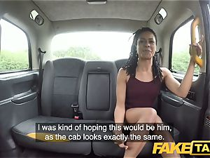 fake taxi swift drilling and creampie for peachy ass