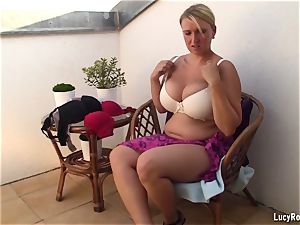 brassiere changing joy with large babies