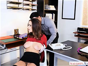 Ashley Adams found roped up well-prepped for a screwing