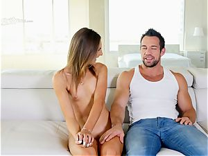 cool babe Shyla Ryder first time boned in her caboose