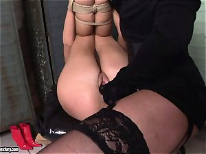 Kathia NObili love doing wire on screw on a steaming babe