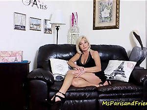 cum on Mommy's bumpers with Ms Paris Rose
