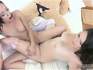 girly-girl foreplay and 2 lezzies gobbling beaver bear Necessities