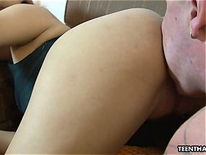 sole fetish romp with a very steaming japanese lady