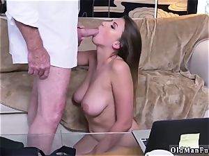 Latino daddy and bisexous cheating boy first-ever time Ivy makes an impression with her ginormous boobs and ass