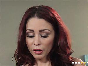 wifey Lezley Zen gets vengeance on cool masseuse Monique Alexander