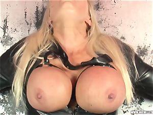messy towheaded predominates salivates licks penetrates all girl superslut