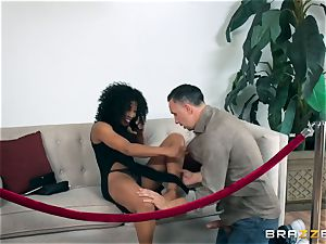dark-hued sweetheart Misty Stone smashed with a rock hard lengthy sausage