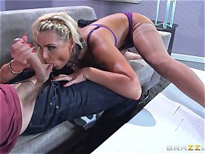 Phoenix Marie gets plumbed in the butt by thick dicked Danny D