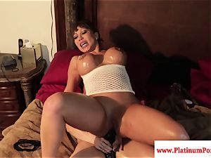 mind-blowing Brandi May and Ava Devine have fun with fucktoys