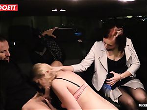 LETSDOEIT - assistant Hooks manager female With intercourse In cab