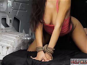 elevate carry domination and outdoor gonzo gangbang He teaches her to demonstrate him her