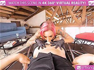 VRBangers.com huge-titted cougar boned rock hard By her Costumer